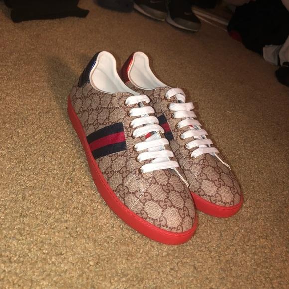 0bcad9a55 Gucci Shoes | Mens Ace Gg Supreme Sneaker | Poshmark